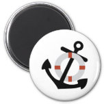 anchor and lifesaver magnets