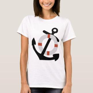anchor and lifesaver T-Shirt