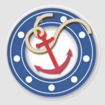 Anchor and Porthole Stickers