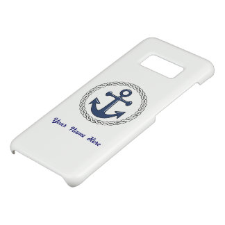 Anchor and Rope Personalized Case-Mate Samsung Galaxy S8 Case