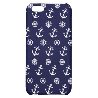 Anchor and Ship's Wheel iPhone 5C Cover