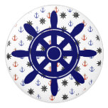Anchor and Wheel  Nautical Themed Cabinet Knob