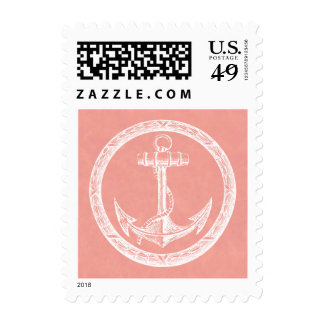 Anchor and Wreath Postage