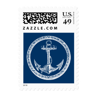 Anchor and Wreath Stamps
