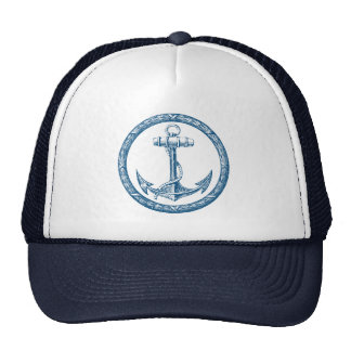 Anchor and Wreath Trucker Hat