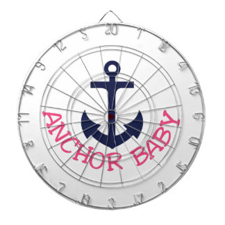 Anchor Baby Dartboard With Darts