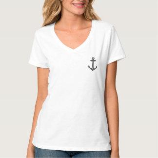Anchor Basic V-neck T-Shirt