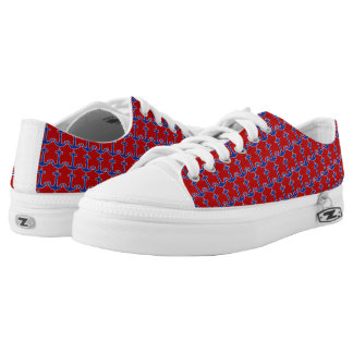 Anchor blue / Contour white + your ideas Low-Top Sneakers