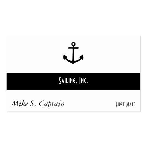 Anchor Business Card