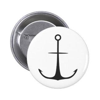 Anchor Pinback Button