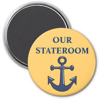 Anchor Cabin Door Marker Magnet