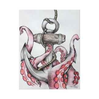 Anchor Canvas Drawing Canvas Print
