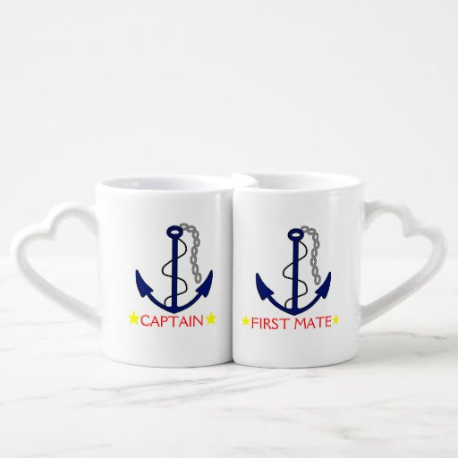 Anchor-Captain and First Mate Couples Mug