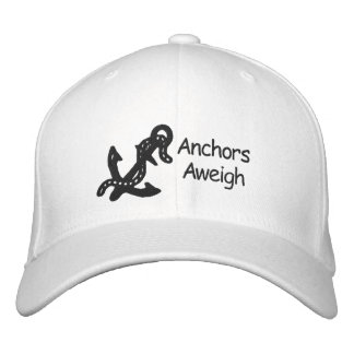 Anchor & Chain Customizable Embroidery Design Embroidered Baseball Cap