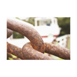 Anchor Chains Canvas Gallery Wrapped Canvas