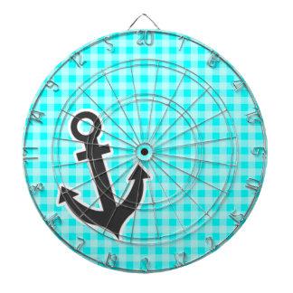 Anchor; Cyan Gingham; Checkered Dartboard