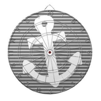 Anchor Dartboard With Darts