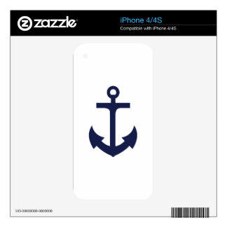 Anchor Decal For The iPhone 4