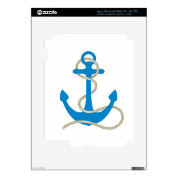 Anchor Decals For iPad 3