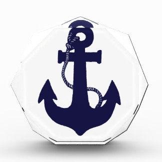 Anchor design acrylic award