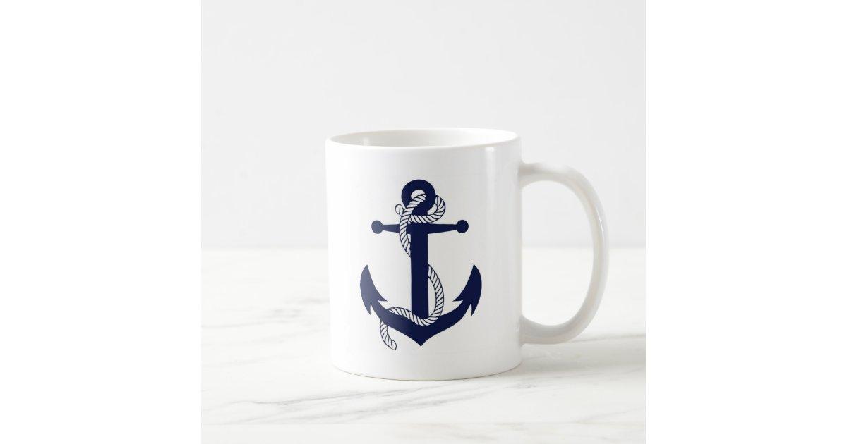 Anchor Design Coffee Mug Zazzle Com