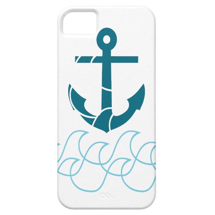 Anchor design iPhone SE/5/5s case