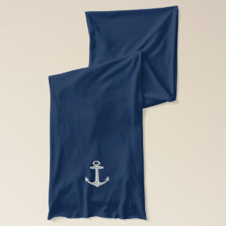 Anchor Design Scarf