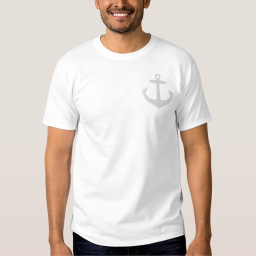 Anchor Embroider Embroidered Polo Shirt