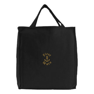 Anchor Embroidered Bag