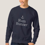 Anchor Embroidered Sweatshirt