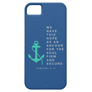 Anchor for the Soul (Hebrews 6:19) iPhone SE/5/5s Case