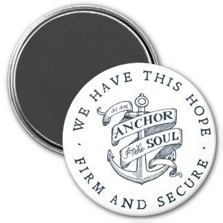 Anchor for the Soul - Hebrews 6:19 Magnet