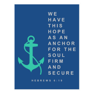 Anchor for the Soul (Hebrews 6:19) Postcard