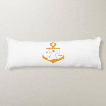 Halloween Themed Anchor ghost Halloween Body Pillow