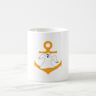 Anchor ghost Halloween Coffee Mug