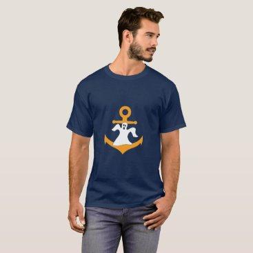Halloween Themed Anchor ghost Halloween T-Shirt