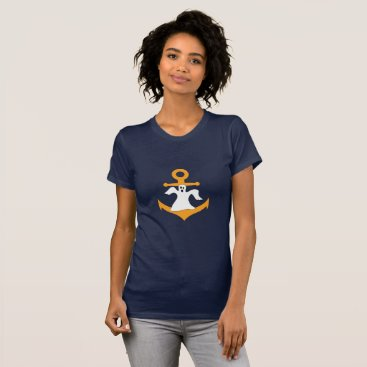 Halloween Themed Anchor ghost Halloween T-Shirt
