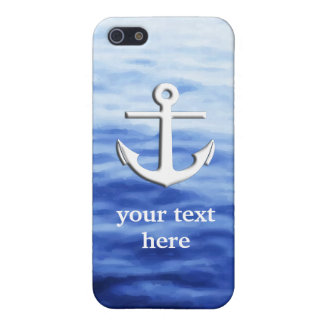 Anchor Graphic to personalize Case For iPhone SE/5/5s