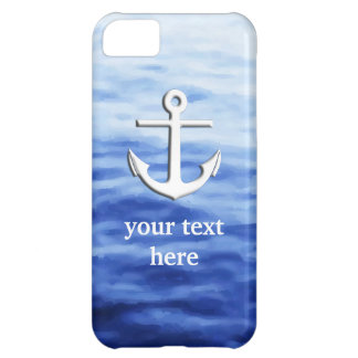 Anchor Graphic to personalize iPhone 5C Case