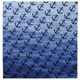 Anchor Graphic to personalize Cloth Napkins