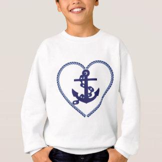 Anchor in Heart Sweatshirt