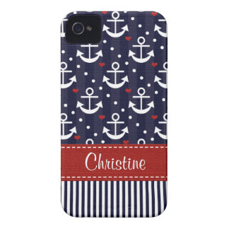 Anchor iPhone 4  4s Case Mate Cover Nautical iPhone 4 Cases