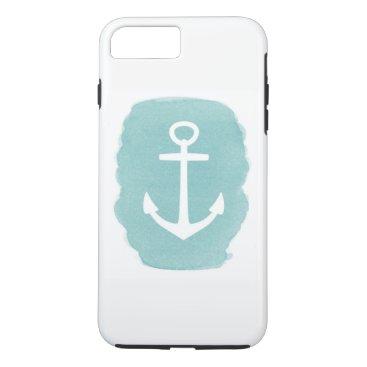 Beach Themed Anchor iPhone 7 Plus Case