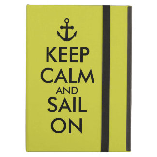 Anchor Keep Calm and Sail On Nautical Custom iPad Air Case