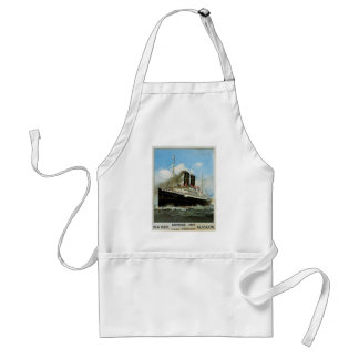 Anchor Line Adult Apron