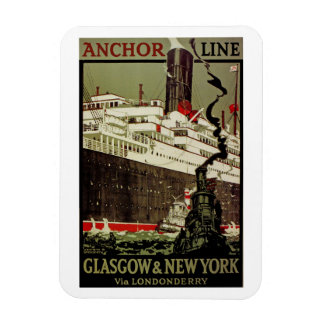 Anchor Line ~ Glasgow-New York Magnet
