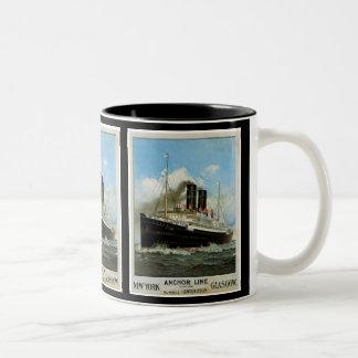 Anchor Line Two-Tone Mug