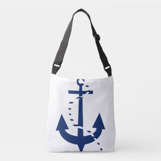 Anchor & Line Navy Tote Bag