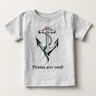 Anchor Love Gray Toddler T Shirts