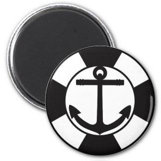 Anchor 2 Inch Round Magnet